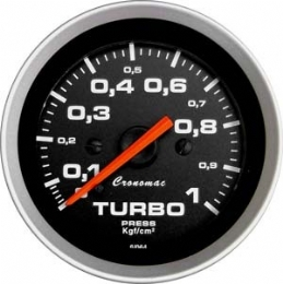 Manometro Pressão de Turbo 1kg - Sport - Cronomac - 52mm